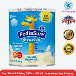 Sữa Pediasure Grow & Gain 400g