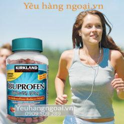 Viên Uống Kháng Viêm, Giảm đau, Hạ Sốt Ibuprofen 200mg, 500 Viên Của Kirkland Mỹ.