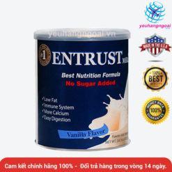 Entrust 400g – Sữa Bột Cho Người Tiểu đường