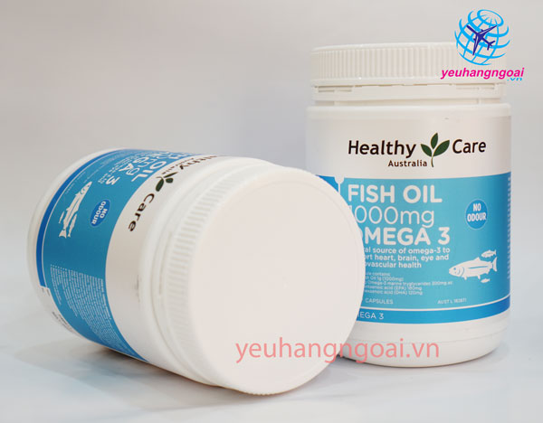 Fish Oil Healthy Care Omega 3 1000mg