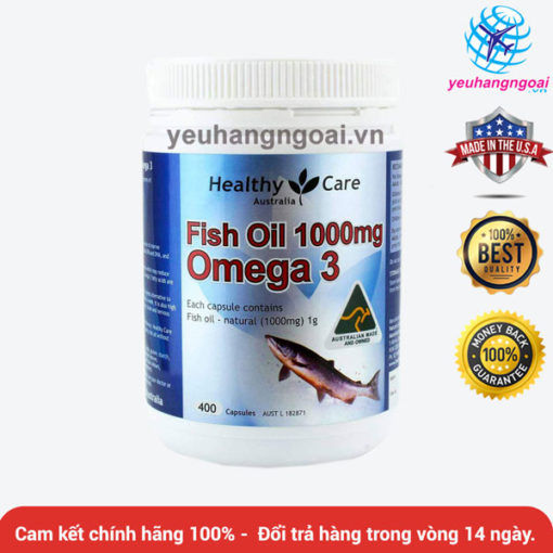 Fish Oil Healthy Care Omega 3