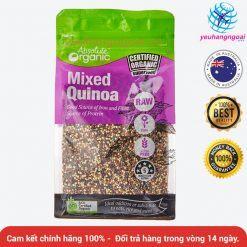 Hạt Diêm Mạch – Mixed Quinoa Absolute Organic 400g (úc)