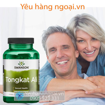 Tongkat Ali Swanson Passion 400mg 120 Viên