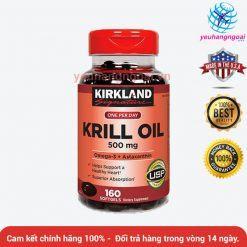Dầu Nhuyễn Thể Krill Oil Kirkland