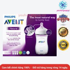 Bình Sữa Nhựa Pa Siêu Cao Cấp Philips Avent Sét 3 Bình