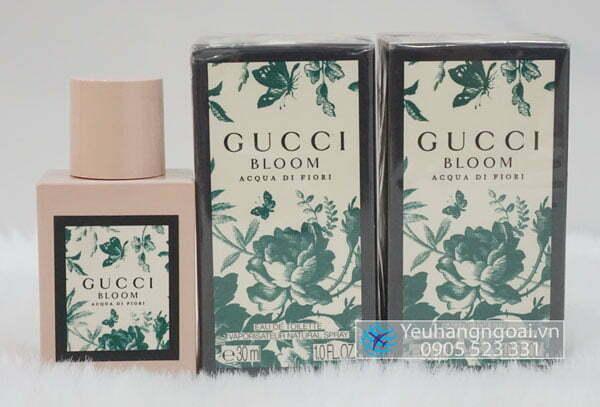 Nước Hoa Gucci Bloom Acqua Di Fiori 30ml Dành Cho Nữ Của Đức