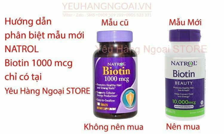 Natrol Biotin 1000mcg