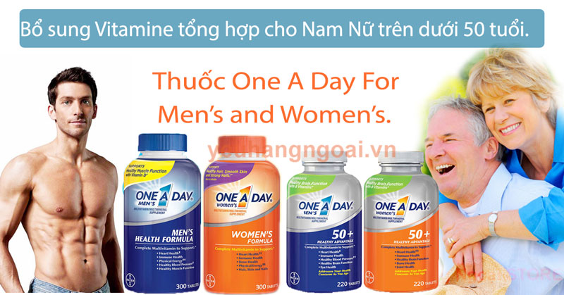 One A Day Chinh Hang Usa