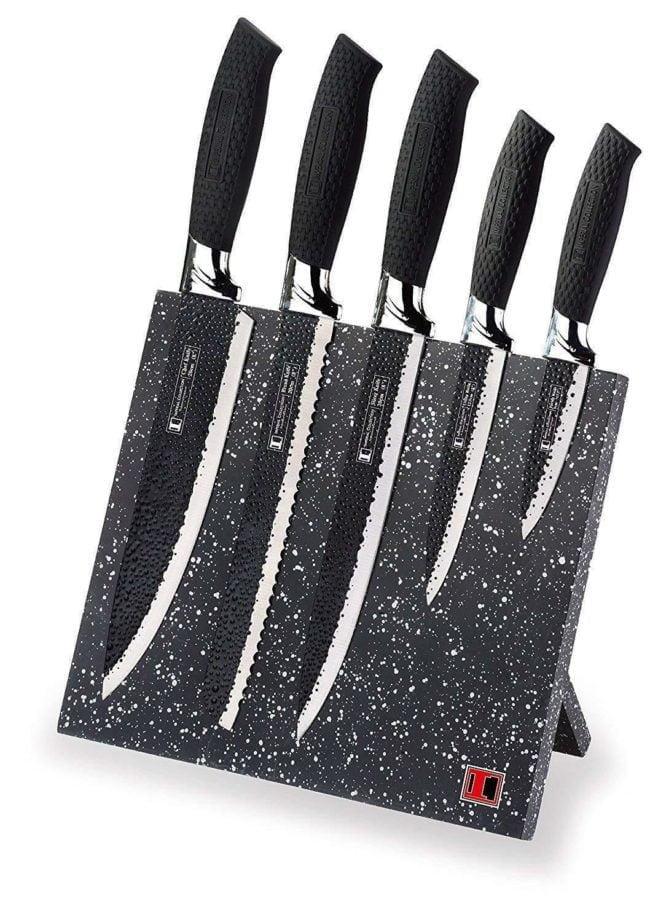 Bộ dao làm bếp 6 món thép không gỉ của hãng Imperial Collection (USA)