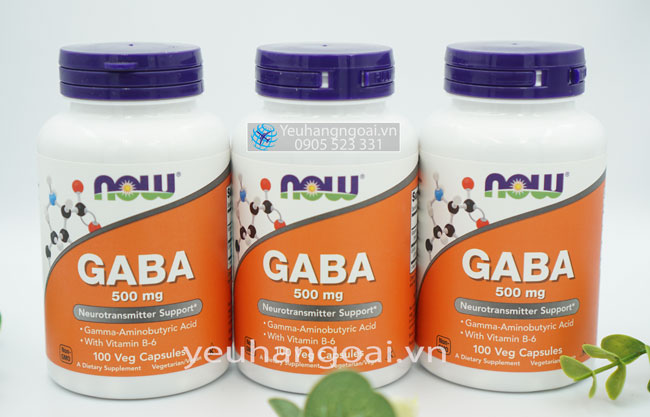 Now Gaba 500mg 100 Viên ( Usa )