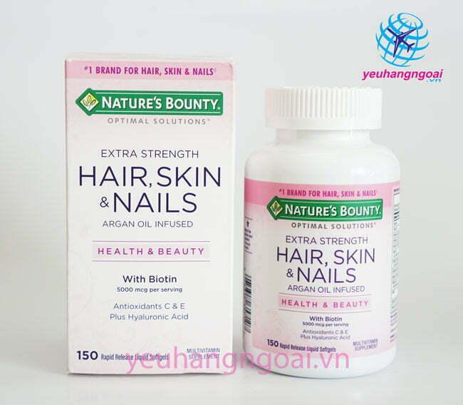 Hair Skin And Nails Natures Bounty 150v.. (2)