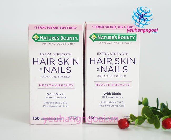 Hair Skin And Nails Natures Bounty 150v..