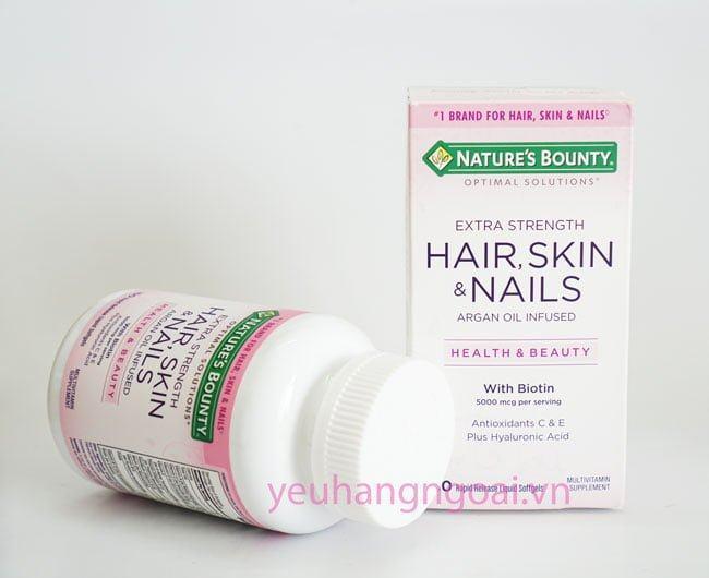 Hair Skin And Nails Natures Bounty 150v.