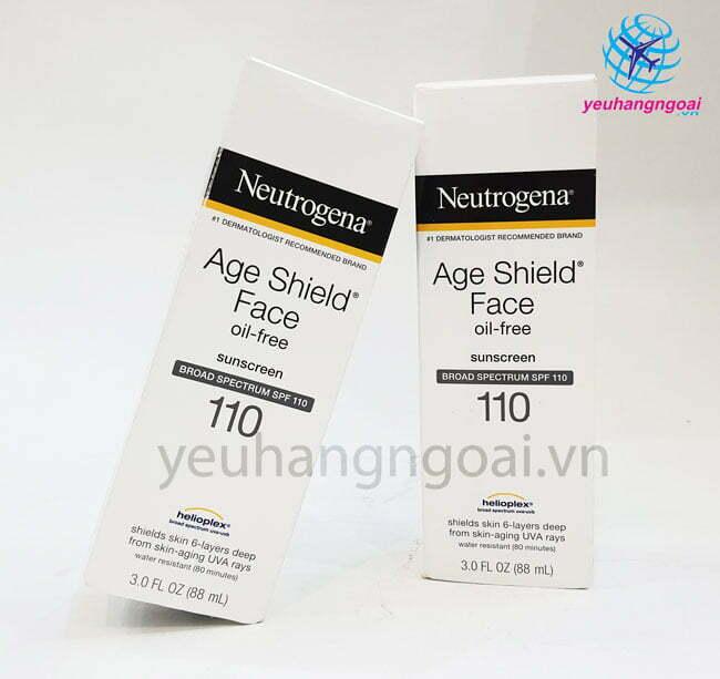Hinh Thật Hình Thật Kem Chống Nắng Neutrogina Age Shield Face Spf 110