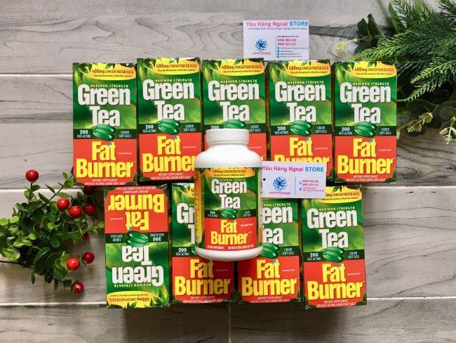 Hình Thật Viên Uống Hỗ Trợ Giảm Cân Green Tea Mỹ. (2)
