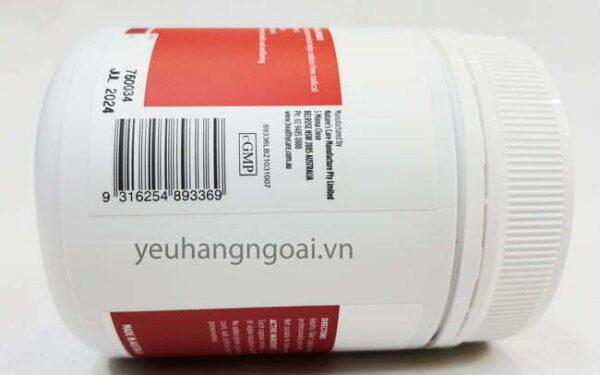 Hình Thật Mã Vạch Viên Uống Bổ Sung Vitamin E Healthy Care 500iu 200 Viên (2)