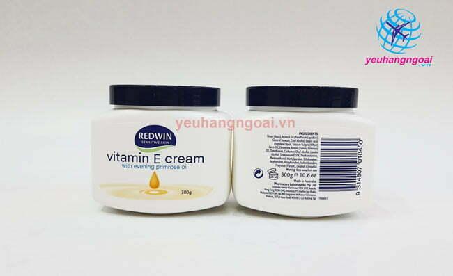 Mặt Trước Sau Kem Dưỡng Da Mềm Mịn Vitamin E Cream Của Úc