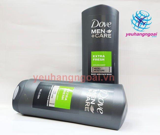 Hình Sữa Tắm, Srm Dove Men 532ml Mỹ.