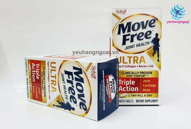 Hình Viên Uống Giảm Các Cơn Đau Siêu Mạnh Schiff Move Free Ultra