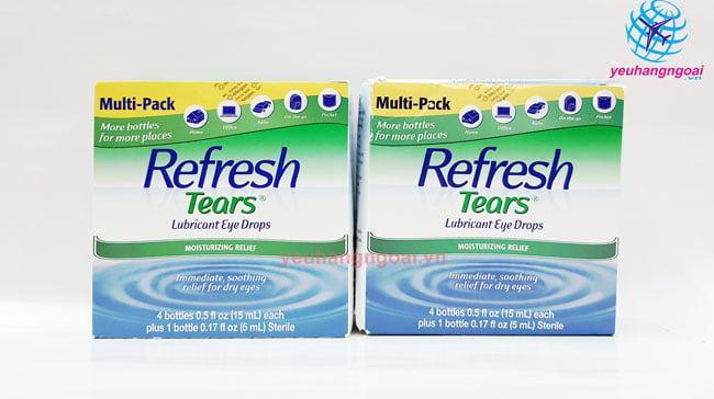 Hình Thật Nước Nhỏ Mắt Refresh Tears Lubricant Eye Drops