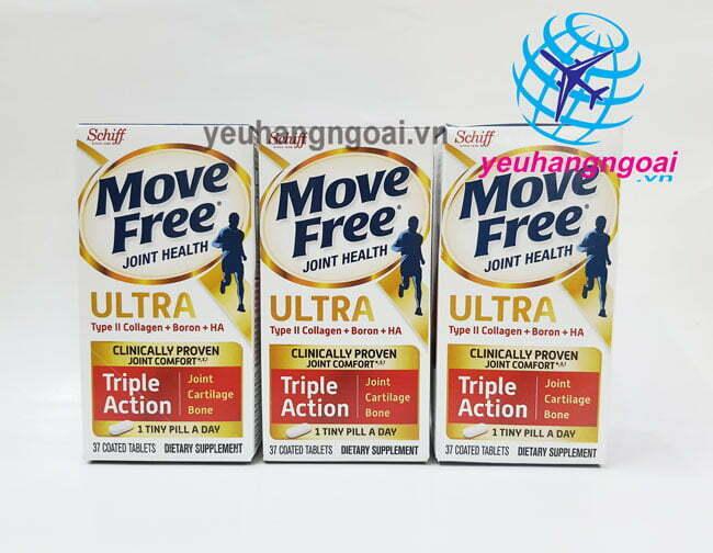 Hình Thật Viên Uống Giảm Các Cơn Đau Siêu Mạnh Schiff Move Free Ultra 64 Viên.