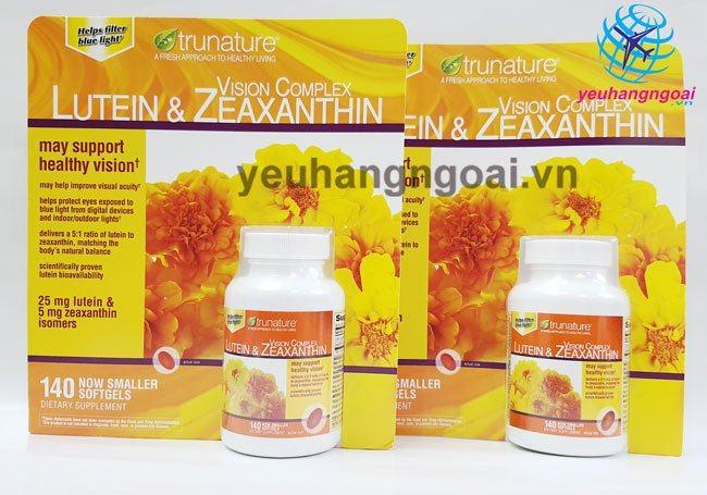 Trunature Vision Complex Lutein & Zeaxanthin 140