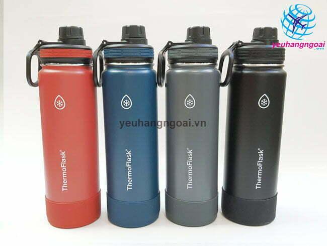 Hình Thật 4 Bình Giữ Nhiệt Nóng Lạnh Thermoflask 710ML Usa.