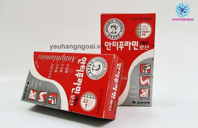 Hình Thật Dầu Nóng Xoa Bóp Antiphlaminr Hàn Quốc