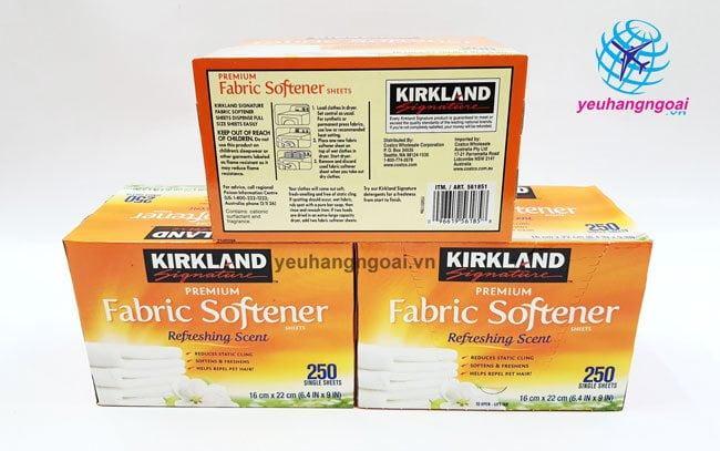 Hình Thật Giấy Thơm Quần Áo Kirkland Fabric Softener Của Mỹ