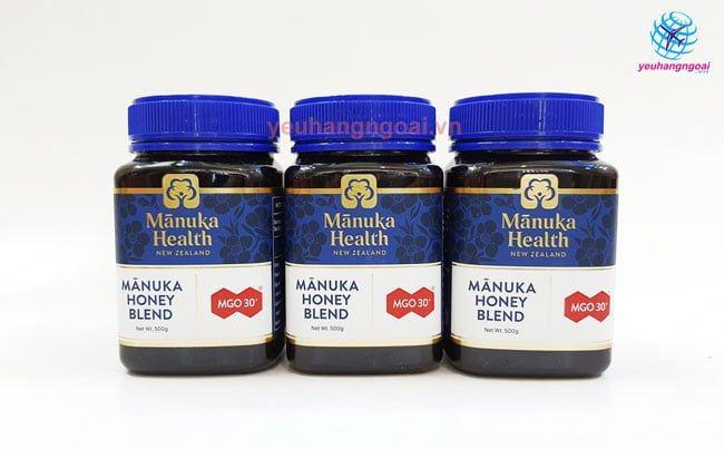 Hình Thật Mật Ong Manuka Mgo 30+ Manuka Health Honey 500g New Zealand