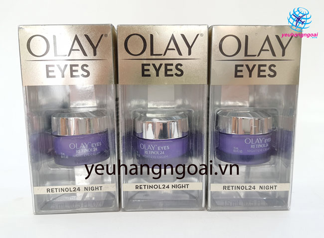Kem Dưỡng Da Vùng Mắt Olay Eyes Retinol 24 Night 15ml