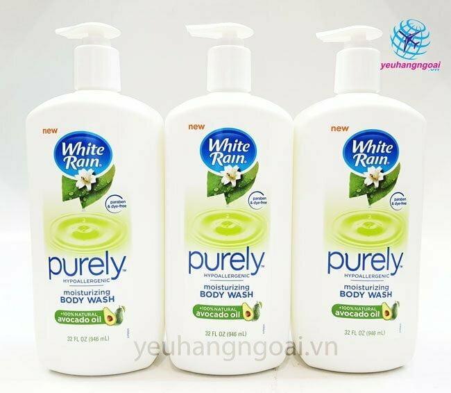 Sữa Tắm White Rain Purely Avocado Oil