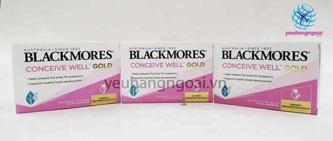 Thuốc Bổ Blackmores Tăng Khả Năng Thụ Thai